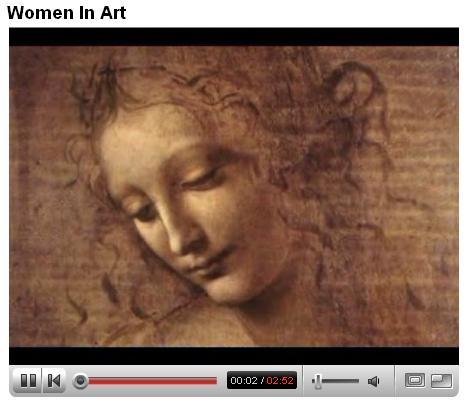 La Mujer en el Arte (video de You Tube)